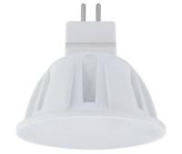 Лампа светодиодная Ecola Light MR16 LED 4,0W 220V GU5.3 2800K матовое стекло 46x50 Истра