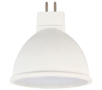 Ecola MR16   LED Premium  5.4W  220V GU5.3 2800K матовое стекло (композит) 48x50 Истра