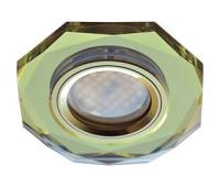 Ecola MR16 DL1652 GU5.3 Glass Стекло 8-угольник с прямыми гранями Золото / Золото 25x90 Истра