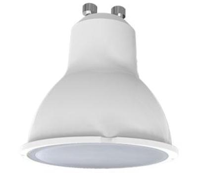 Ecola Light Reflector GU10  LED  5,0W 220V GU10 2800K матовое стекло 58х50 Истра
