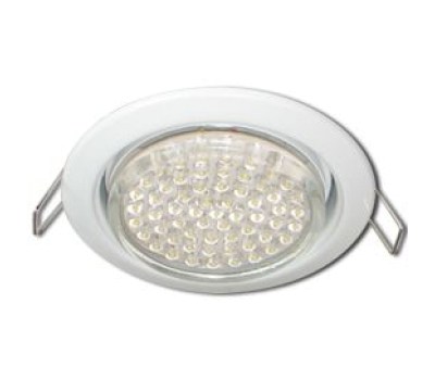 Ecola GX53 H4 Downlight without reflector_white (светильник) 38x106 - 10 pack Истра