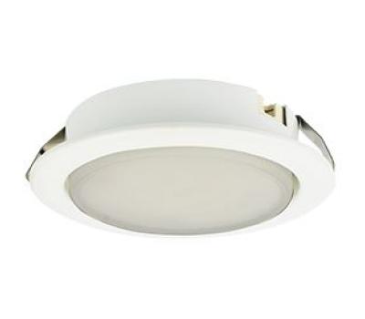 Ecola GX53 DL Светильник Встраиваемый (для твер. пов. и мебели) Белый 28х93 Истра