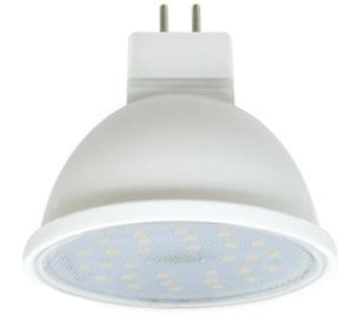 Ecola MR16   LED  7.0W  220V GU5.3 4200K прозрачное стекло (композит) 48x50 Истра