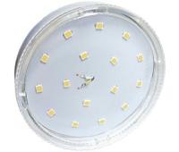 Ecola GX53   LED  8,5W Tablet 220V 4200K прозрачное стекло (композит) 27x75 Истра