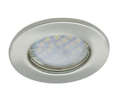 Светильник Ecola Light MR16 DL90 GU5.3 встр. плоский Сатин-Хром 30x80 Истра