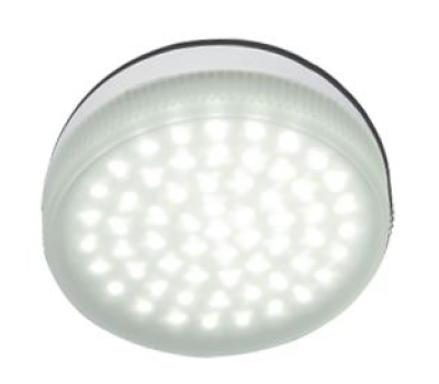 Ecola Light GX53   LED  4.2W Tablet 220V 2800K матовое стекло 30000h Истра