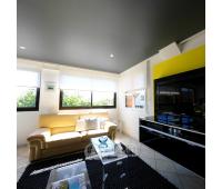 Натяжной потолок 21 м²