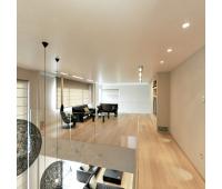 Натяжной потолок 38 м² Истра