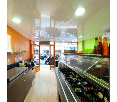 Натяжной потолок 39 м² Истра