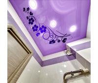 Глянцевый натяжной потолок с фотопечатью 1 м² + монтаж Истра