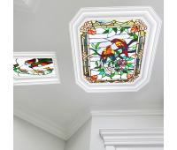 Полупрозрачный натяжной потолок с фотопечатью 1 м² + монтаж Истра