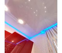 Парящий потолок. Светодиодная лента 14.4 Вт RGB + специальный профиль - 1 метр Истра