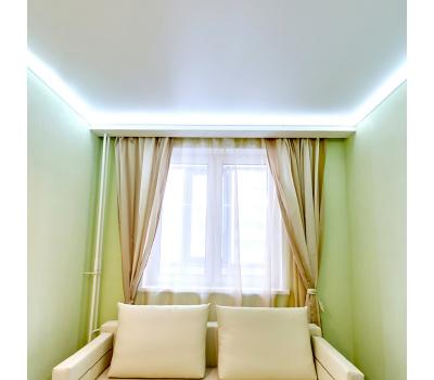 Парящий потолок. Светодиодная лента 7.2 Вт RGB + специальный профиль - 1 метр Истра